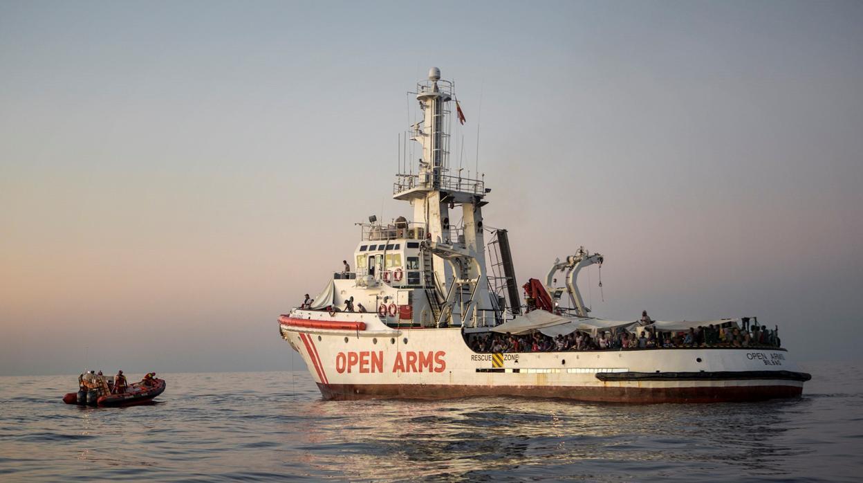 La ONG que rescata inmigrantes en el mar, Open Arms, lanza un SOS para reparar su barco y continuar operando