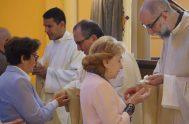 """02/09/2019 – Finalizamos hoy el ciclo """"Más corazón en esas manos"""" junto al hermano FranciscoBerola, sacerdote de La Orden de los Ministros de…"""
