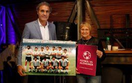 """19/09/2019 – Bajo el lema """"La pasión vence el olvido"""" nació el proyecto Fútbol vs. Alzheimer, llevada…"""