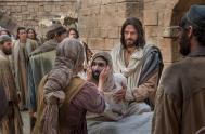 """17/09/2019 –Martes de la Vigésimo cuarta semana del Tiempo durante el Año """"En seguida, Jesús se dirigió a una ciudad llamada Naím, acompañado…"""