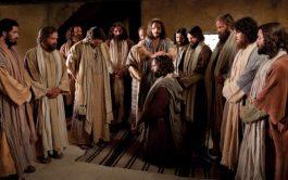 """10/09/2019 –Martes de la vigésimo tercera semana de Tiempo Ordinario. """"Jesús se retiró a una montaña para orar, y pasó…"""