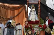 02/10/2019 –Hoy caminamos hacia la Catedral de Nuestra Señora de la Candelaria y San Antonio de Humahuaca, construida en 1681 con paredes de…