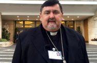 """22/09/2019 – Monseñor Ángel Macín, presidente de la Comisión Episcopal de Pastoral Aborigen y obispo de Reconquista, indicó que """"el trabajo que estamos…"""