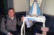 09/11/2019 – El padre Federico Piedrabuena, sacerdote de la congregación de Schoenstatt. es párroco en la parroquia San Pantaleon de Florencio Varela, en…
