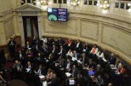 """[audio mp3=""""http://radiomaria.org.ar/_audios/bruggesesion.mp3""""][/audio] 20/11/2019 -La Cámara de Diputados realizó hoy una sesión especial para aprobar un paquete de iniciativas, que incluye la reforma a…"""