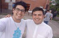 """22/02/2020 – Leonardo García es seminarista de la diócesis de Gregorio de Laferrere en el Gran Buenos Aires. """"Tengo 25 años. Nací en…"""