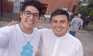 22/02/2020 – Leonardo García es seminarista de la diócesis de Gregorio de Laferrere en el Gran Buenos…