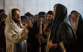 """17/02/2020 – """"Vinieron los fariseos y empezaron a discutir con Jesús. Querían ponerlo en apuros, y esperaban de él…"""