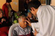 """18/03/2020 – El presidente de la Comisión Episcopal para la Pastoral de la Salud, Monseñor Alberto Bochatey, indicó que """"la Iglesia sigue las…"""