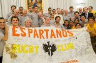 """Este espacio lo lleva adelante el grupo """"Espartanos"""", que ofrece acompañamiento a personas privadas de su libertad a través del rugby, la educación,…"""