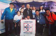 """05/05/2020 – Josela Gorla, joven de la diócesis de San Nicolás de los Arroyos, invitó a otros jóvenes a """"sumarse a esta red…"""