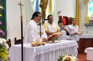 03/05/2020 – El padre Sandro Zacarías es párroco solidario de la comunidad Santísima Trinidad de Resistencia en Chaco y a fines de marzo…