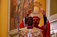 """07/07/2020 – Monseñor Dante Braida, obispo de La Rioja, sostuvo que """"el pueblo de Dios de nuestra provincia celebra con alegría el centenario…"""
