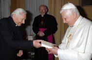 01/07/2020 –Ha fallecido, a los 96 años de edad en la ciudad alemana de Ratisbona, Monseñor Georg Ratzinger , el hermano mayor del…