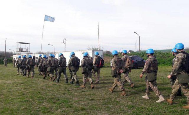 Los Cascos Azules en una base de la Organización de Naciones Unidas. Actualmente están activas cuatro misiones de paz con coordinación de CAECOPAZ, donde se dictan cursos como Periodistas en Zonas Hostiles, Protección de Civiles, Perspectivas de Género, Operaciones Cruz del Sur y talleres de idiomas inglés y francés