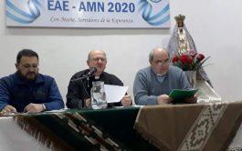 """Pbro. Amaya, Mons. Luis Urbanc,Pbro. Julio Murúa 03/08/2020 – """"Sueño que desde Catamarca, a través de estos encuentros virtuales, podamos…"""