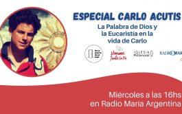 18/09/2020 –En esta semana con la 4° píldora del Especial de Carlo Acutis recorremos el vínculo de Carlo con la…