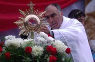 """04/10/2020 – El padre Jacinto Salomón """"Chacho"""" Ale es un sacerdote del sur tucumano. """"El Señor es providente en mi vida a través…"""