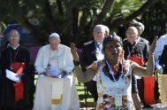 """13/11/2020 – """"Querida Amazonia"""" es el título de la Exhortación postsinodal donde el Papa nos habla de sus cuatro «grandes sueños» respecto a…"""