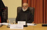 """29/01/2021 – En """"Reflexiones del padre Raniero Cantalamessa"""" compartimos una charla que el predicador de la Casa Pontificia brindó en la Cátedra…"""