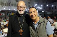 """25/04/2021 – Monseñor Roberto Ferrari, obispo auxiliar de Tucumán, compartió su testimonio de vida. """"Nací en la ciudad cordobesa de Río Cuarto, pero…"""