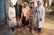 20/04/2021 – La hermana Marta Rébolo pertenece a la Fraternidad Misionera de la diócesis de San Roque en Chaco y misiona junto…