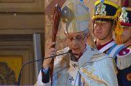 25/05/2021 –El arzobispo de Buenos Aires y primado de la Argentina, cardenal Mario Aurelio Poli, presidió el solemne tedeum por el 25 de…