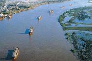 """24/06/2021 –La vía navegable troncal """"Hidrovía"""" es una ruta fluvial de 1.635 km que permite la salida hacia el océano a distintos tipos…"""