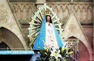 """21/06/2021 – En torno a la historia de Nuestra Señora de Luján, el hermano Mario Roldán, ordenado recientemente como diácono contó que """"La…"""