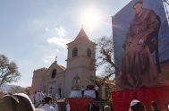 """10/09/2021 – """"El Suncho es la localidad donde Fray Mamerto Esquiú entregó su alma a Dios, entregó su vida al Señor y pasó…"""