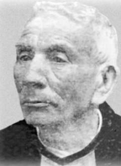 El rostro del Cura Gaucho, en los últimos años de su vida.