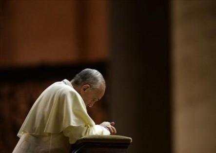 Su Santidad también habló de su forma de rezar cotidianamente.