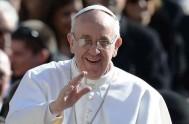 20/10/2013 - Lo dijo el santo padre esta mañana durante la oración del Ángelus.