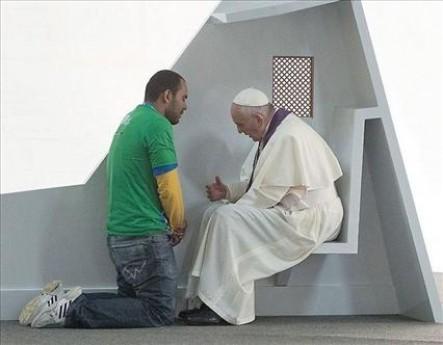 """""""Cuando el Señor se acerca nos da esperanza"""