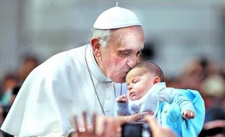 Los niños han sido siempre depositarios de especial afecto del Santo Padre.
