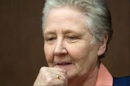 La irlandesa Marie Collins, víctima de abuso durante su infancia.