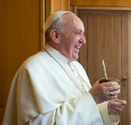 Una vez más, Francisco se refirió a la alegría del cristiano.