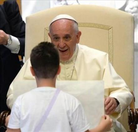 El Pontífice se conmovió al conocer la historia de más de 500 jóvenes presos en Estados Unidos.