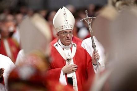 El Papa volvió a celebrar misa en la capilla de la Casa Santa Marta, en pleno verano europeo.