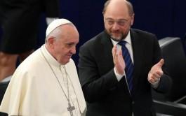 25/11/2014 – El Papa Francisco se trasladó hasta la sede del Consejo de Europa, en…