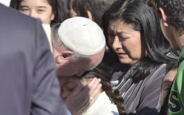 22/12/2014 – El Papa Francisco se dirigió a las personas que trabajan en la Ciudad…