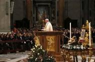 06/01/2015 – En la solemnidad de la Epifanía, el Papa Francisco presidió la santa misa en la basílica de San Pedro, en el…