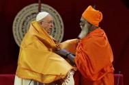13/01/2015 – En su visita a Sri Lanka, el Papa Francisco visitó al nuevo presidente del país, Maithripala Sirisena. En la residencia presidencial,…
