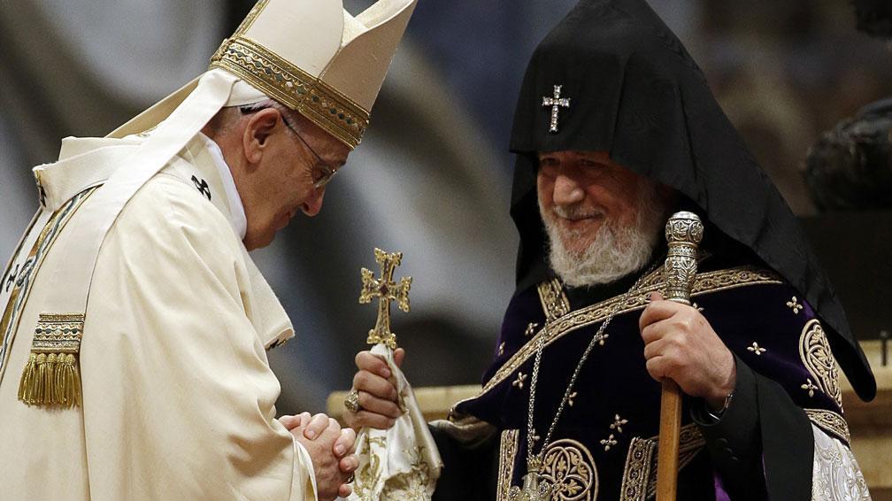Papa francisco armenia