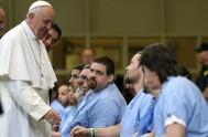 28/09/2015 – En el día ayer el Papa Francisco mantuvo un encuentro con los preso del instituto correccional Curran – Fromhold en Filadelfia,…