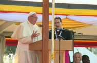 28/11/2015 – En el segundo día de su visita apostólica a Uganda, el Papa Francisco se encontró hoy con los jóvenes del país,…