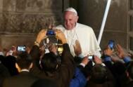 """12/11/2015 – El XVI Congreso Latinoamericano de ex alumnos Jesuitas cuyo lema es """"El Papa que mueve el mundo"""" comenzó el 11 de…"""