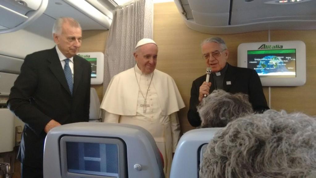 conferencia papa africa