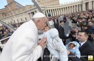 10/02/2016 – En la audiencia general de hoy el Papa Francisco continuó su ciclo de catequesis sobre la misericordia en la Sagrada Escritura…