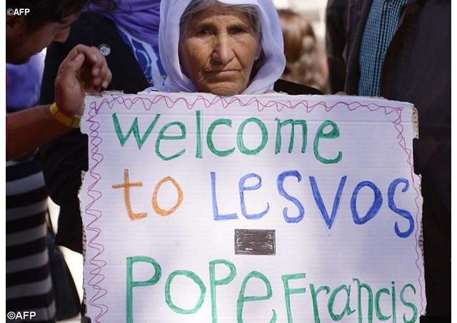 Bienvenido a Lesbos